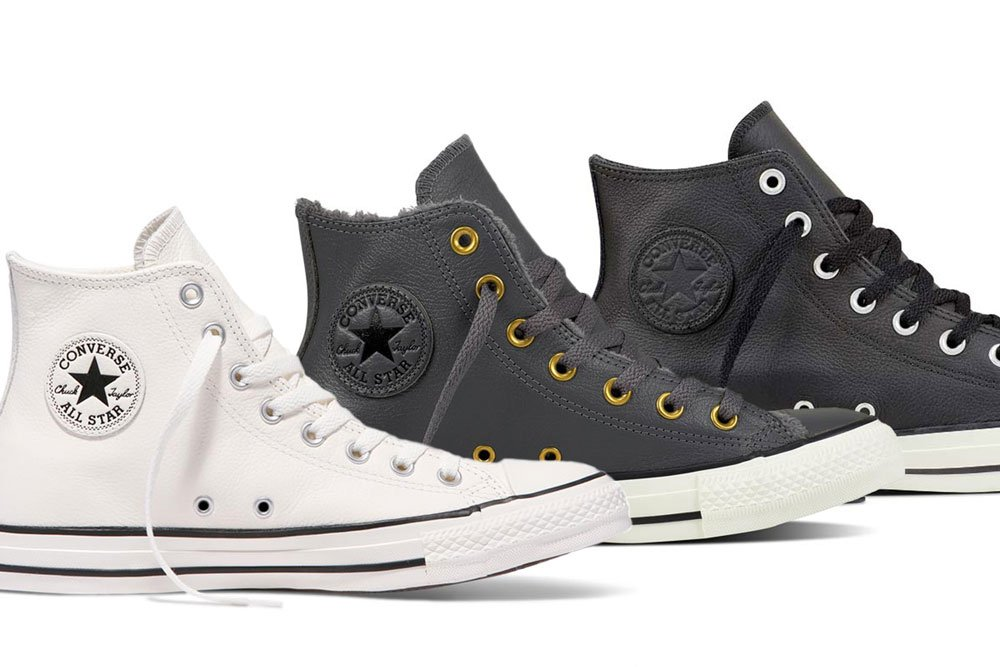 Converse boty Leather boots