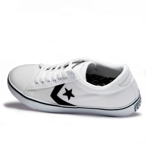 Converse boty Star Player Cons Vulc White angle