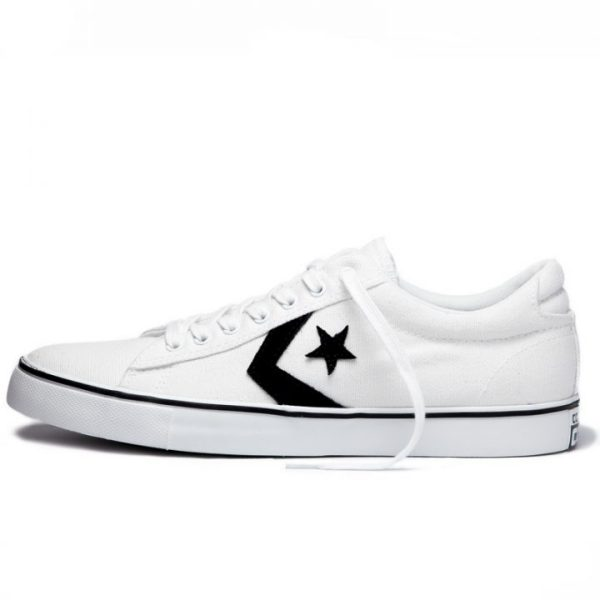 Converse boty Star Player Cons Vulc White left
