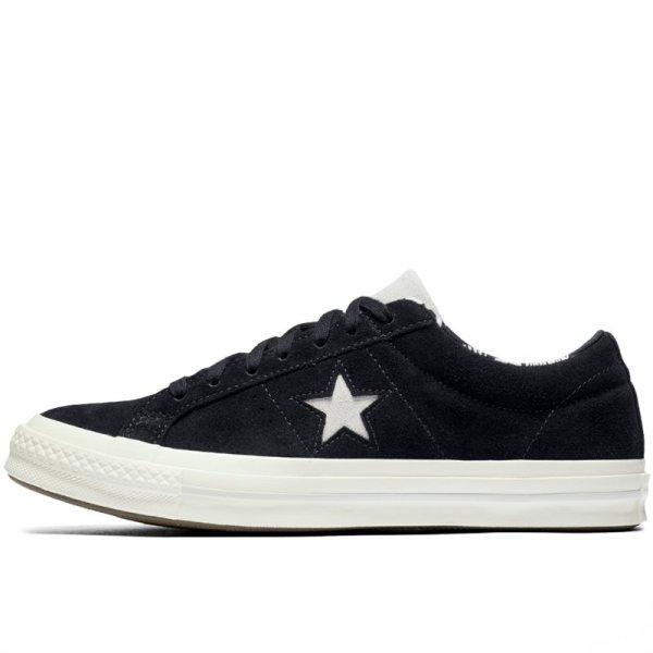 Converse boty One Star Tropical Feet Black left