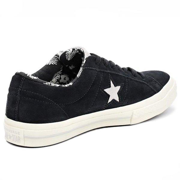 Converse boty One Star Tropical Feet Black angle r