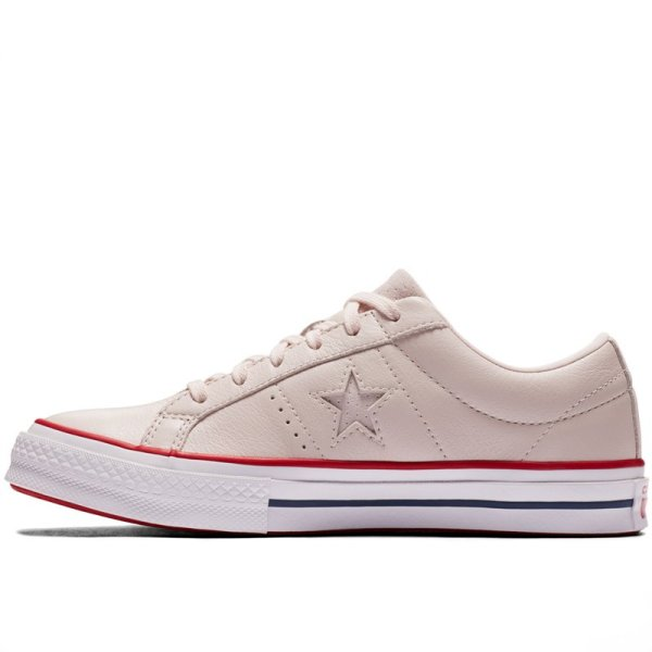 Converse Boty One Star Heritage Low Top Pink left