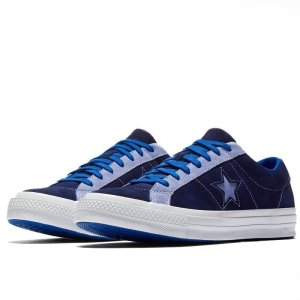 Converse Boty Panské One Star Carnival Blue Low Top pair