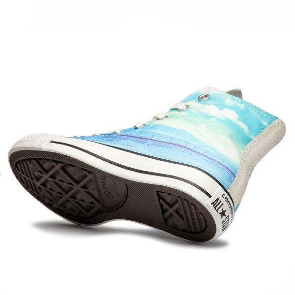 Converse boty Chuck Taylor All Star Spray Paint Blue angle1