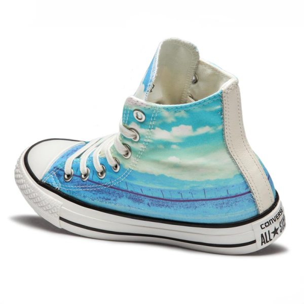 Converse boty Chuck Taylor All Star Spray Paint Blue angle4