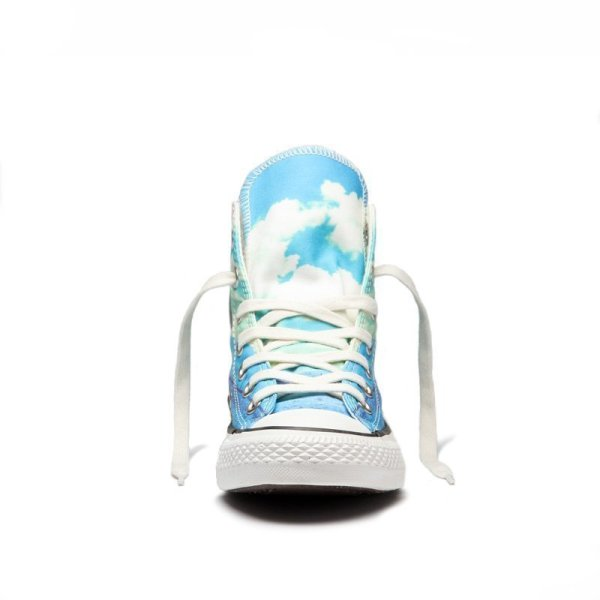 Converse boty Chuck Taylor All Star Spray Paint Blue front