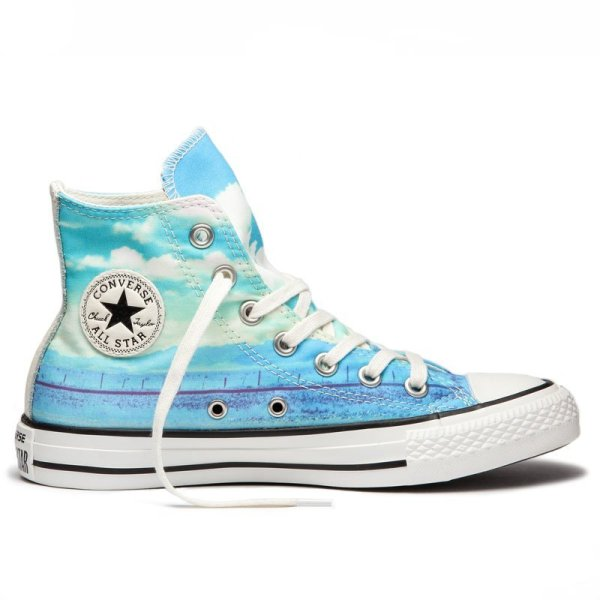 Converse boty Chuck Taylor All Star Spray Paint Blue right