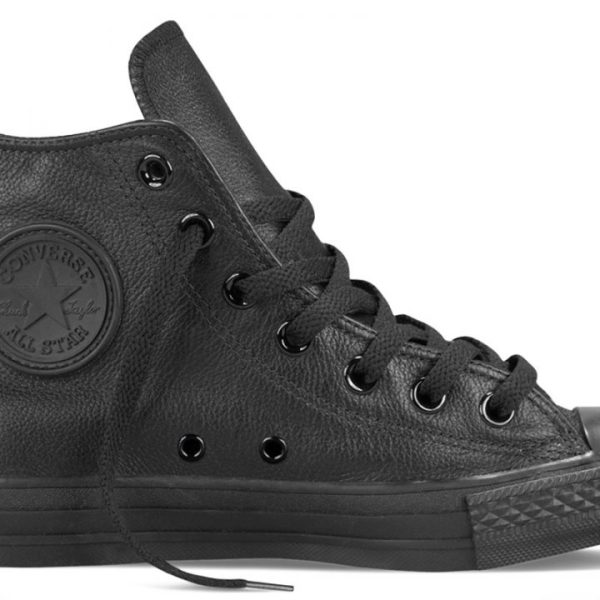 Converse boty Leather All Star Black Monochrome main