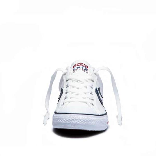 Converse boty Star Player OX White Navy front