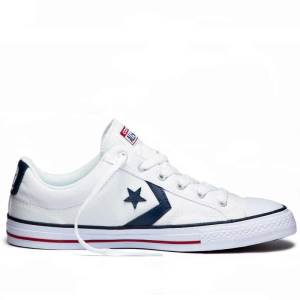 Converse boty Star Player OX White Navy right
