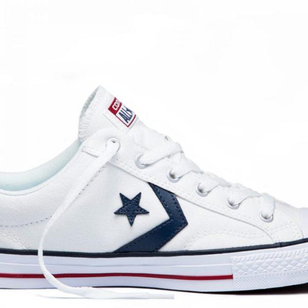 Converse boty Star Player OX White Navy main