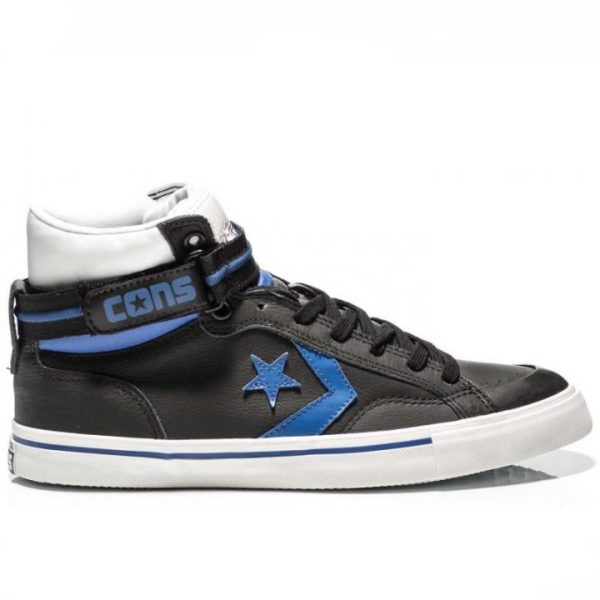 C144404 Converse kožené Star Player Leather Black