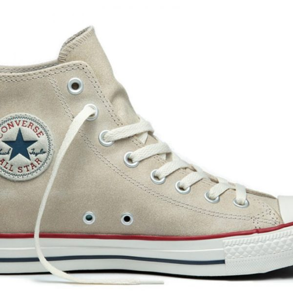 Converse boty Chuck Taylor All Star Suede Portrait Gray main