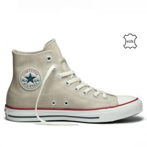 Converse boty Chuck Taylor All Star Suede Portrait Gray right