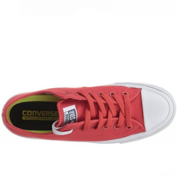 Converse boty Chuck Taylor All Star II NEON Red top