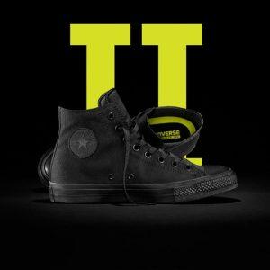 Converse boty Chuck Taylor II Black Monochrome promo