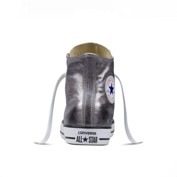 Converse boty Chuck Taylor All Star Hi Gunmetal back