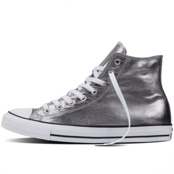 Converse boty Chuck Taylor All Star Hi Gunmetal left