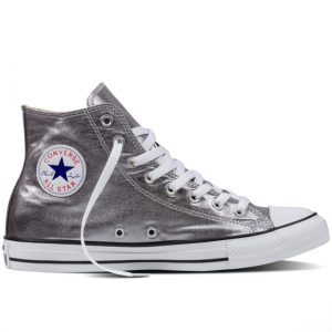 Converse boty Chuck Taylor All Star Hi Gunmetal right