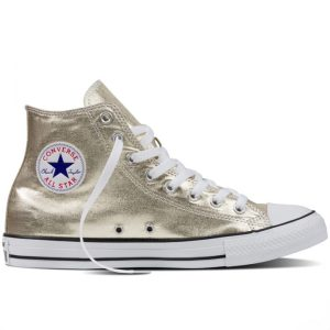 Converse boty Chuck Taylor All Star Hi Light Gold Metallics right