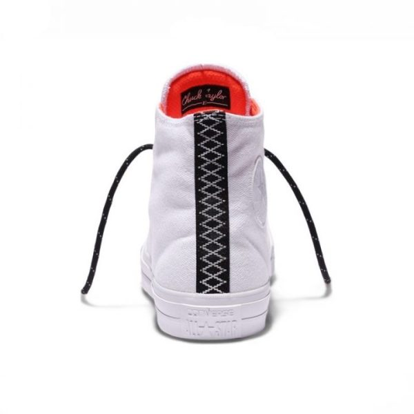 Converse boty Chuck Taylor II Counter Climate White back
