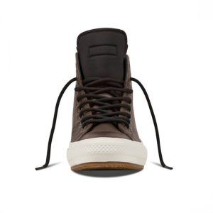 Converse boty All Star Boot PC Brown Leather front