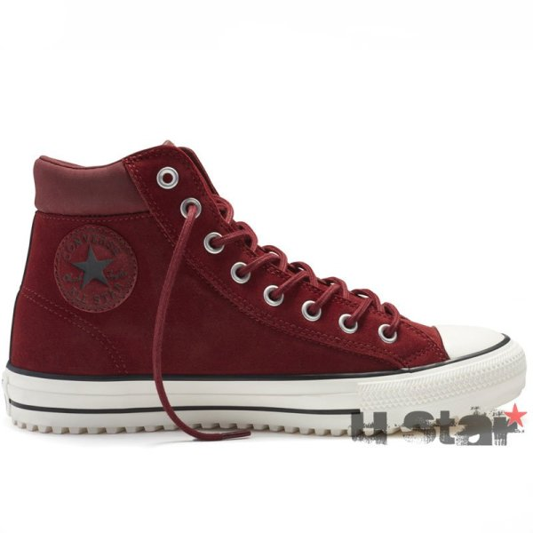 Converse boty zimni Chuck Taylor Boot PC Maroon right