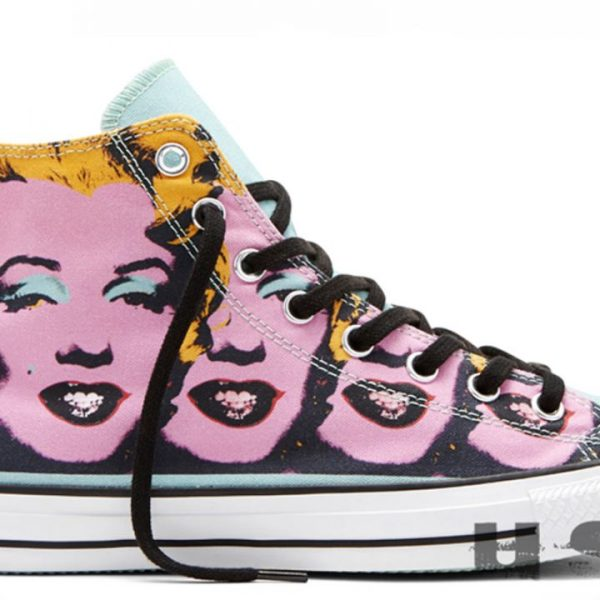 Converse boty All Star Andy Warhol Marilyn Monroe main