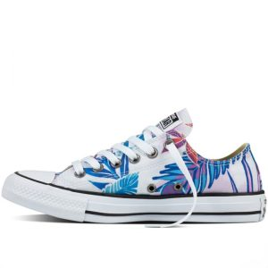 Converse boty Chuck Taylor All Star low Tropical Print left