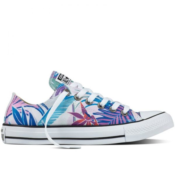 Converse boty Chuck Taylor All Star low Tropical Print right