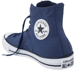 Boty Converse Chuck Taylor All Star Classic Hi Perf Ripstop Athletic Navy angle