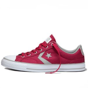 Converse boty Star Player OX Rhubarb Dolphin left