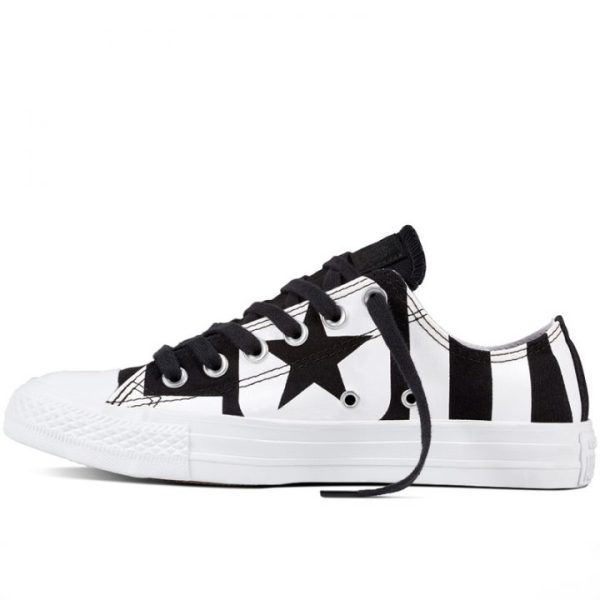 Boty Converse Chuck Taylor All Star Wordmark Low Black left