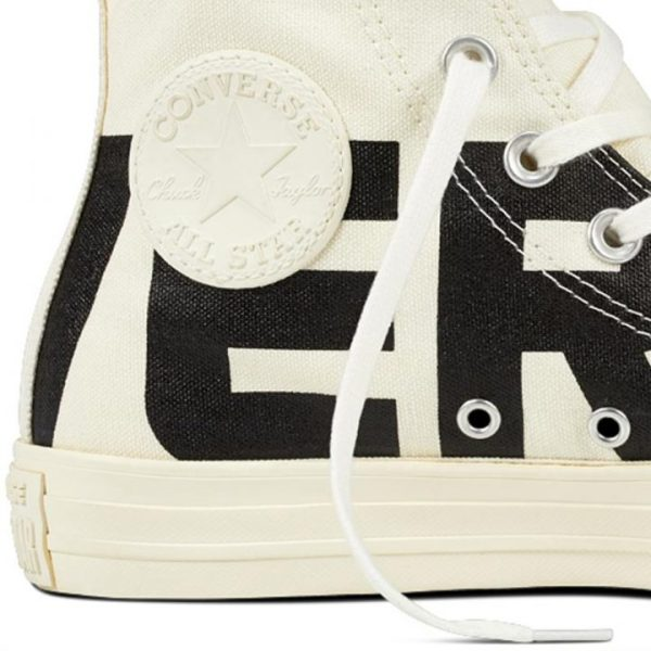 Converse boty Chuck Taylor All Star Wordmark High Egret detail1
