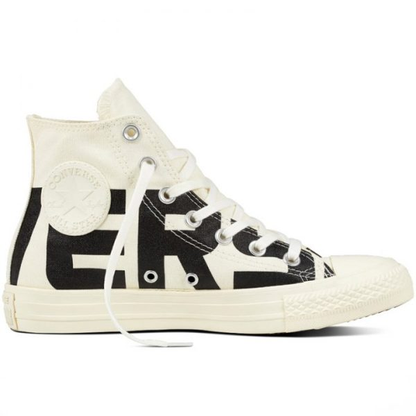 Converse boty Chuck Taylor All Star Wordmark High Egret right