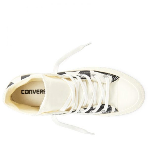 Converse boty Chuck Taylor All Star Wordmark High Egret top