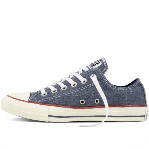 Boty Converse Chuck Taylor All Star Stone Wash Ox Navy left