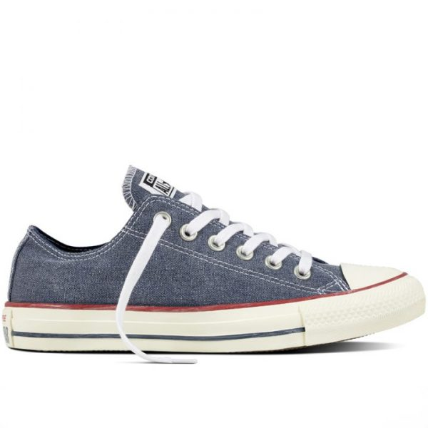 Boty Converse Chuck Taylor All Star Stone Wash Ox Navy right