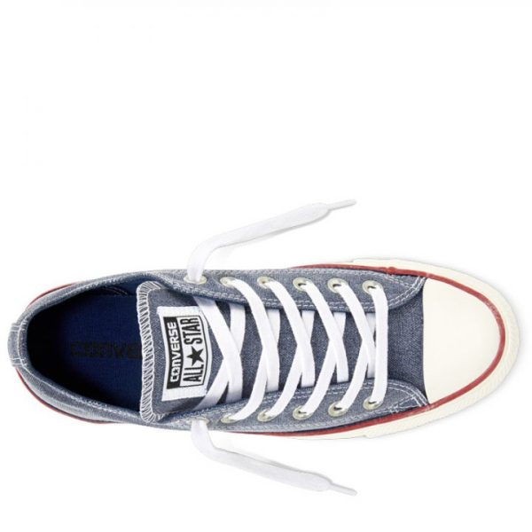 Boty Converse Chuck Taylor All Star Stone Wash Ox Navy top