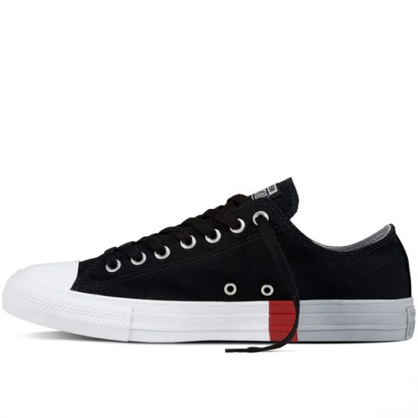 Boty Converse Chuck Taylor All Star Colorblock Ox Black left