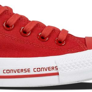 Converse boty Сhuck Taylor All Star Wordmark Red Low detail