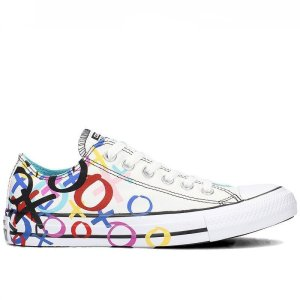 Bilé tenisky Converse Chuck Taylor All Star OX print right