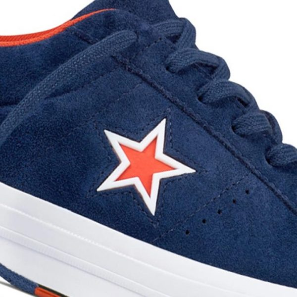 Boty Converse One Star Suede Modler Star Navy detail