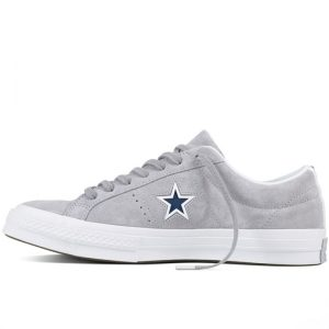 Boty Converse One Star Suede Modler Star Golf Grey left