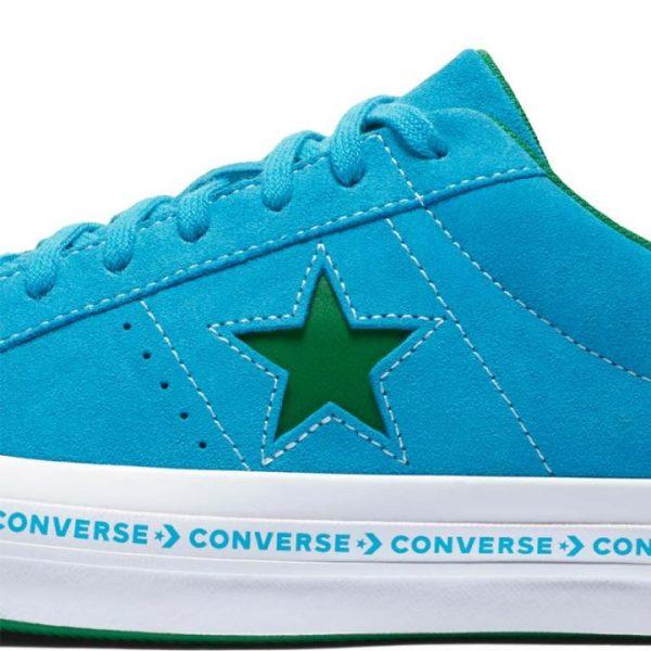Converse boty One Star OX Hawaiian Ocean detail
