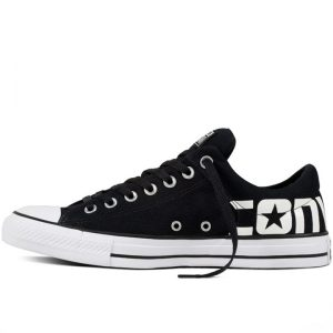 Converse boty Chuck Taylor All Star Street Canvas Black left