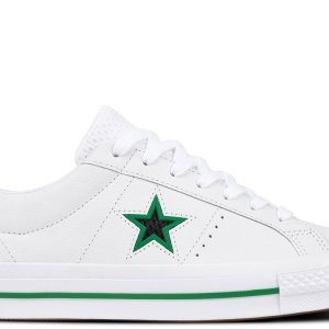 Converse boty One Star Ox Leather White main