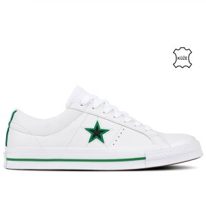 Converse boty One Star Ox Leather White right