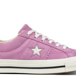 Converse one star varsity nubuck low top fuchsia glow main