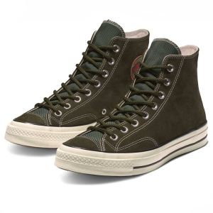 Converse boty Chuck Taylor All Star 70 Base Camp Suede High Top Utility Green pair